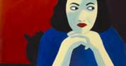 Portrait peint par Marjane Satrapi