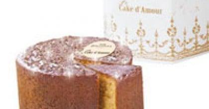 le cake d'amour de Dalloyau et sa bague