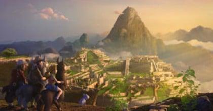 le site inca de Païtiti dans le dessin animé Tad l'explorateur