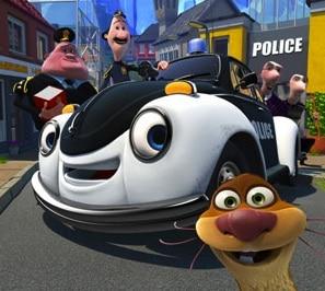 ploddy, la voiture électrique policière