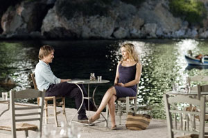 Julie Delpy et Ethan Hawke dans before Midnight