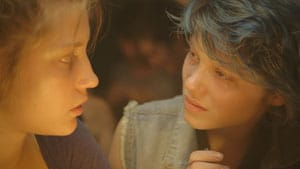 Adèle Exarchopoulos et Léa Seydoux dans La vie d'Adèle