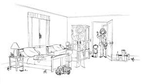 Etude de l'échelle des dessins et des personnages