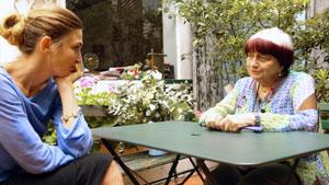 Julie Gayet et Agnès Varda dans Cinéast(e)s