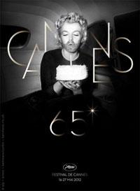 L'affiche du 65e Festival de Cannes avec une Marilyn Monroe barbue