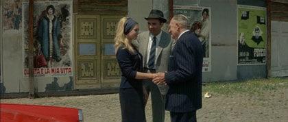 Brigitte Bardot, Michel Piccoli, Fritz Lang dans Le Mépris
