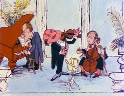 L'orchestre qui sombre