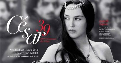 L'affiche des Cesar 2014