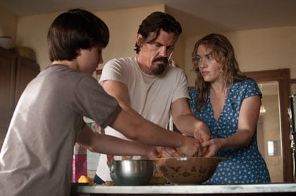Gattlin Griffith, Josh Brolin et Kate Winslet