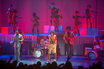 James Brown en plein show