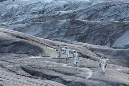 Interstellar, dans l'espace le froid peut être intense