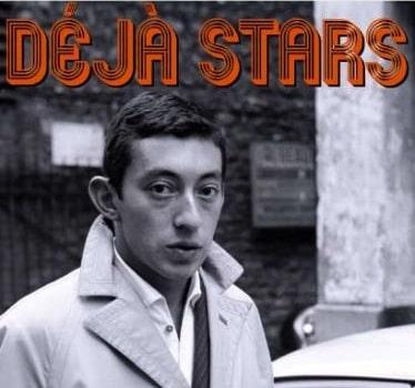 Serge Gainsbourg à ses débuts dans l'expo Déjà Stars
