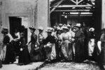 Sortie d'Usine Lumière en 1895