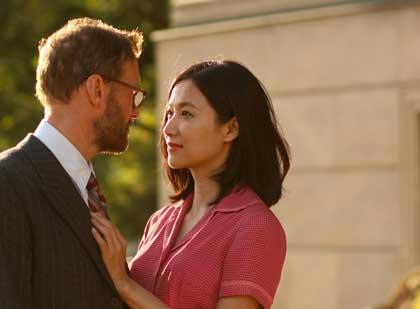 Gordon Alexander et Xu Jinglei dans Somewhere only we know - 5e festival du cinéma chinois en France