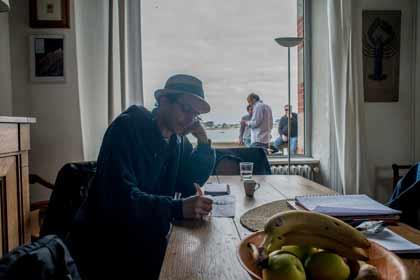 Groupe Ouest : Omar Bekhaled (2014) au travail