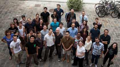 L'équipe mixte de fabrication de Tout en haut du monde de Rémi Chayé