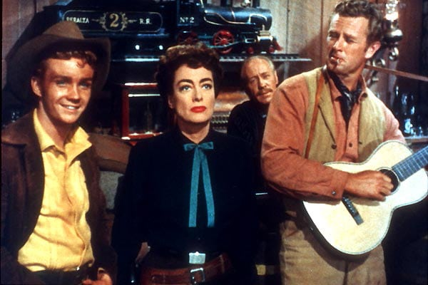 Joan Crawford dans Johnny Guitar - les tops d'Anne Villacèque