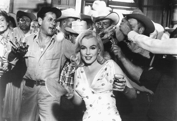 Marilyn Monroe dans Les Désaxés - les tops d'Anne Villacèque