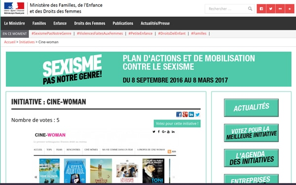 Votez Cine-Woman