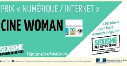 Cine-Woman : prix Internet/Numérique