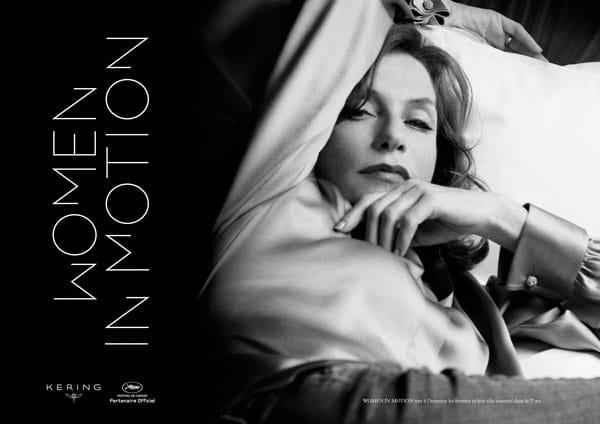 Isabelle Huppert, reine des Women in Motion 2017 - Cine-Woman