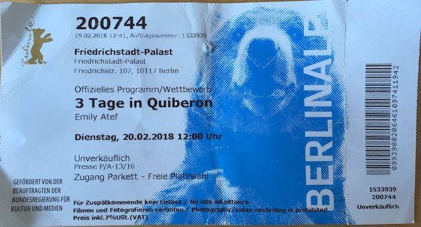 Berlinale 2018 Jour 4 - Cine-Woman