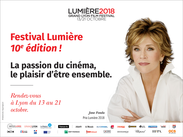 Jane Fonda invitée d'honneur du Festival Lumière 2018 - Cine-Woman