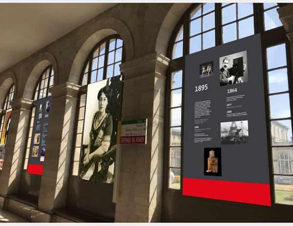 L'Exposition Gaumont, depuis que le cinéma existe à l'hôpital Lariboisière - Cine-Woman