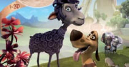 l'affiche du dessin animé Blackie & Canuto