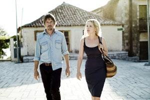 Julie Delpy et Ethan Hawke dans Before Midnight