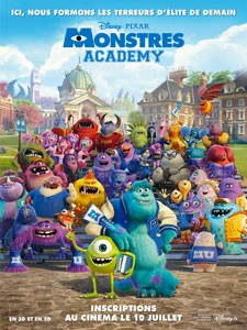 affiche de Monstres academy