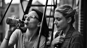 Frances et son amie Sophie dans Frances Ha