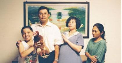 La famille de Jiale dans Ilo Ilo