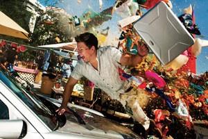 L'accident de Mark Wahlberg dans No pain, no gain
