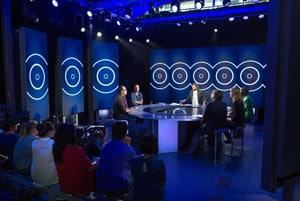 Le nouveau plateau du Cercle sur Canal+