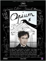 L'affiche d'Opium d'Arielle Dombasle