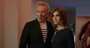 Jean-Paul Gaultier et Carine Roitfeld