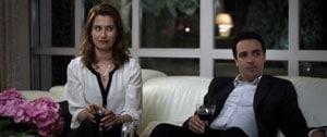 Emmanuelle Devos et Laurent Poitrenaux dans La vie domestique