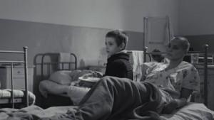 Dmitriy Kobetskoy et Katerina Golubeva, fils et mère dans la maison à la tourelle