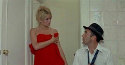 Brigitte Bardot et Michel Piccoli dans Le mépris
