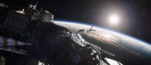 L'espace comme si vous étiez dans Gravity