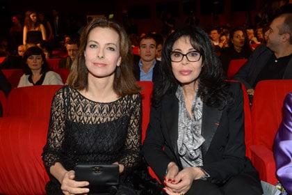 Carole Bouquet et Yamina Benguigui aux Lumières