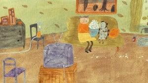 La petite fille et le hibou, le troisième film du programme