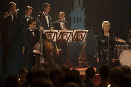 Edda Magnason (Monica), en concert