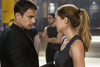 Theo James et Shailene Woodley