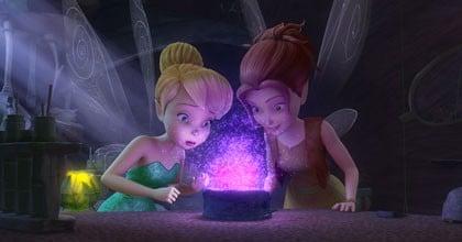 Clochette et Zafira la gardienne de la poudre magique