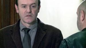 Jacques Bonnaffé et Douglas Gordon (de dos)