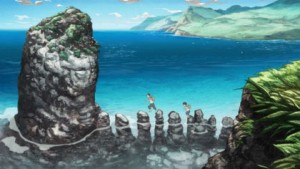 L'île de Shikotan où vit Giovanni