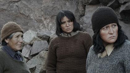 Digna Quispe, Catalina Saavedra, Francisca Gavilán...
