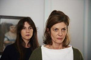 Charlotte Gainsbourg et Chiara Mastroianni